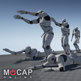 16+ Zombie Motion Capture Animations