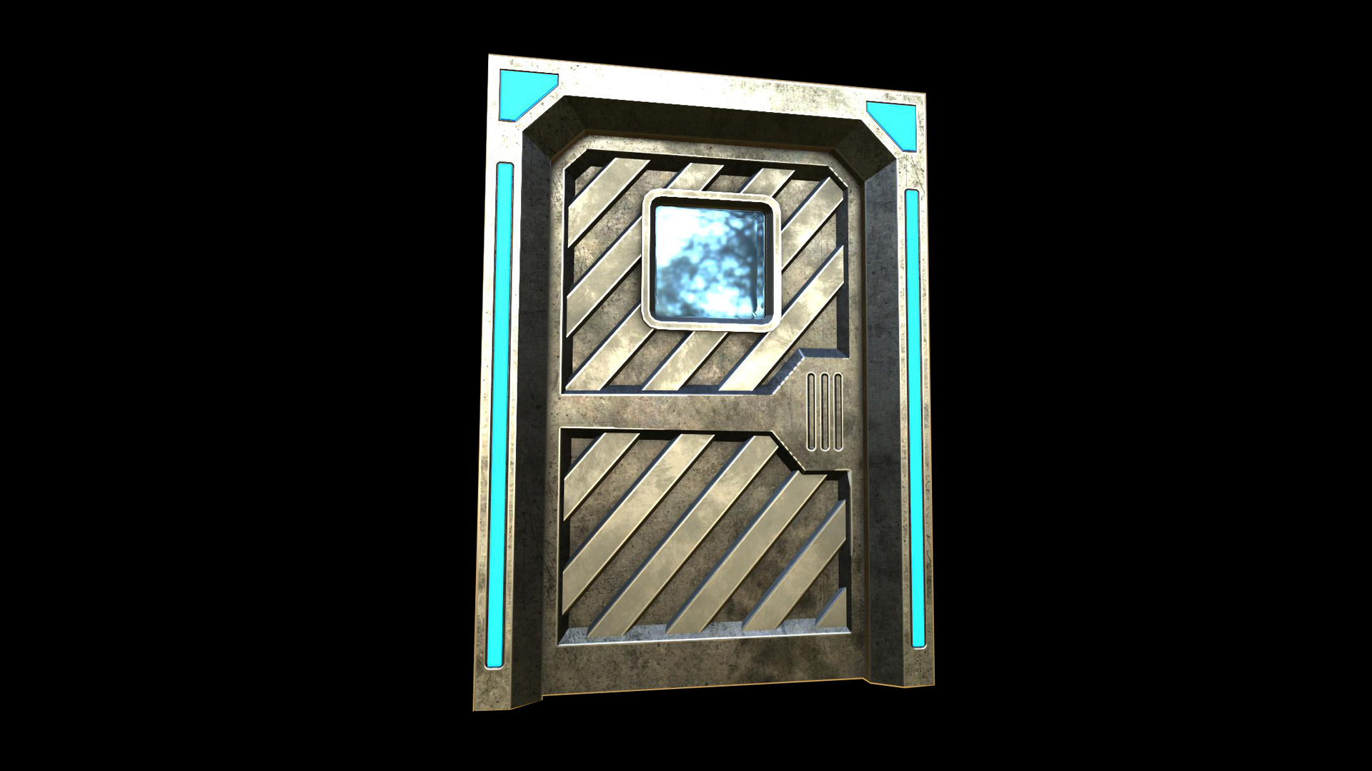 Sci Fi Doors by Next Level 3D in Props UE4 Marketplace