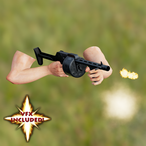 AAA quality Striker Shotgun w/ VFX, 4K textures, 3 LODs, fully animated / rigged arms. 28 Assets in all!
