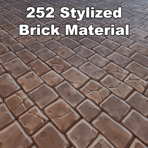 Over 252 stylized brick textures, all are 2048*2048px and tileable.