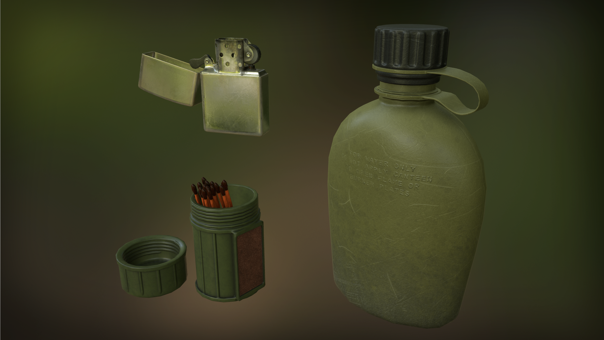 Survival Gear by morganmcd in Props - UE4 Marketplace