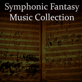 A collection of stirring and beautiful orchestral music in the fantasy soundtrack style popularized in games by Skyrim, Witcher, and Dark Souls.