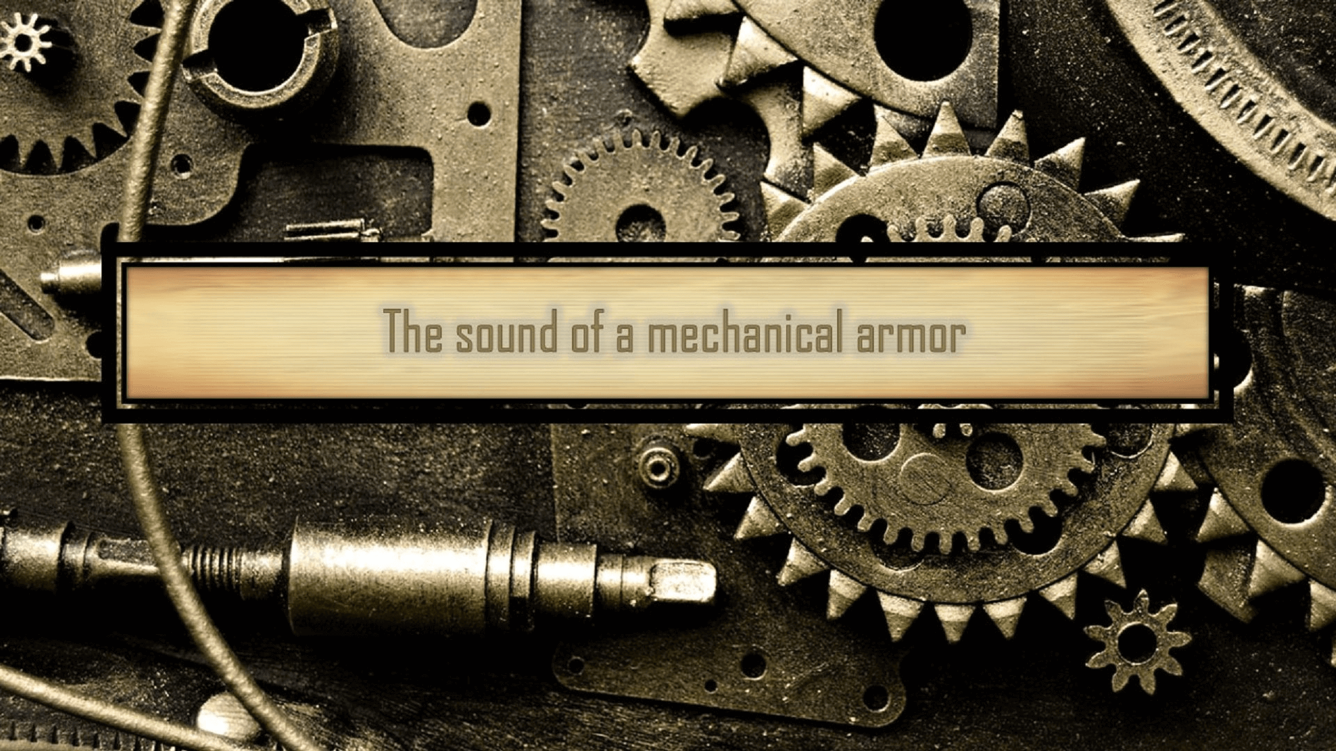 The Sounds Of A Mechanical Armor by Mechanics Mechanics in