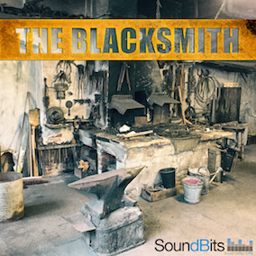The Blacksmith Sound Effects Library features 800 files - over 1000 sounds that were recorded while a one day visit at an old Forge from the last millennium. You get tons of hammering metal on an anvil of course but also many other generic forge sounds.