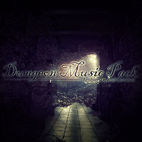 A pack of 3 styles of fantasy dungeon music, each style with its own ambience, combat, mood stings and appropriate transitions.