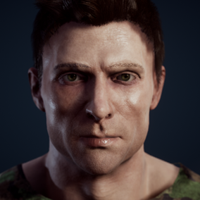 Easily create your own characters with the uMorph Character Creator. Completely customize the appearance of the character. Modify body, face, clothing, and props through a character editor or during runtime via Blueprints or C++.
