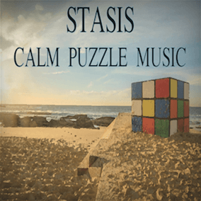 Calm, relaxing music for puzzle, simulation, exploration games with looping capabilities.