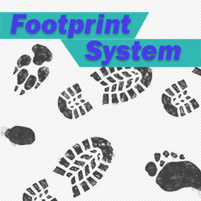 A Blueprint System to Spawn Footprint Decals on specific Physical Material Grounds