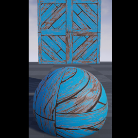 This is a customizable wood plank Material pack. It can be used to create many different textures for your environment.