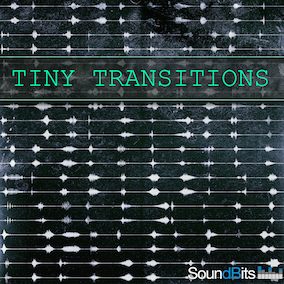 """Tiny Transitions"" is a composite collection of 275 short Whoosh- and other Transition sounds. Other than the huge, more cinematic transitional sounds that you are accustomed to hear from SoundBits, this sound pack focuses more on the smaller element."