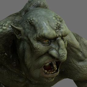 This dangerous Troll will surely find its place in your heroic fantasy project.
