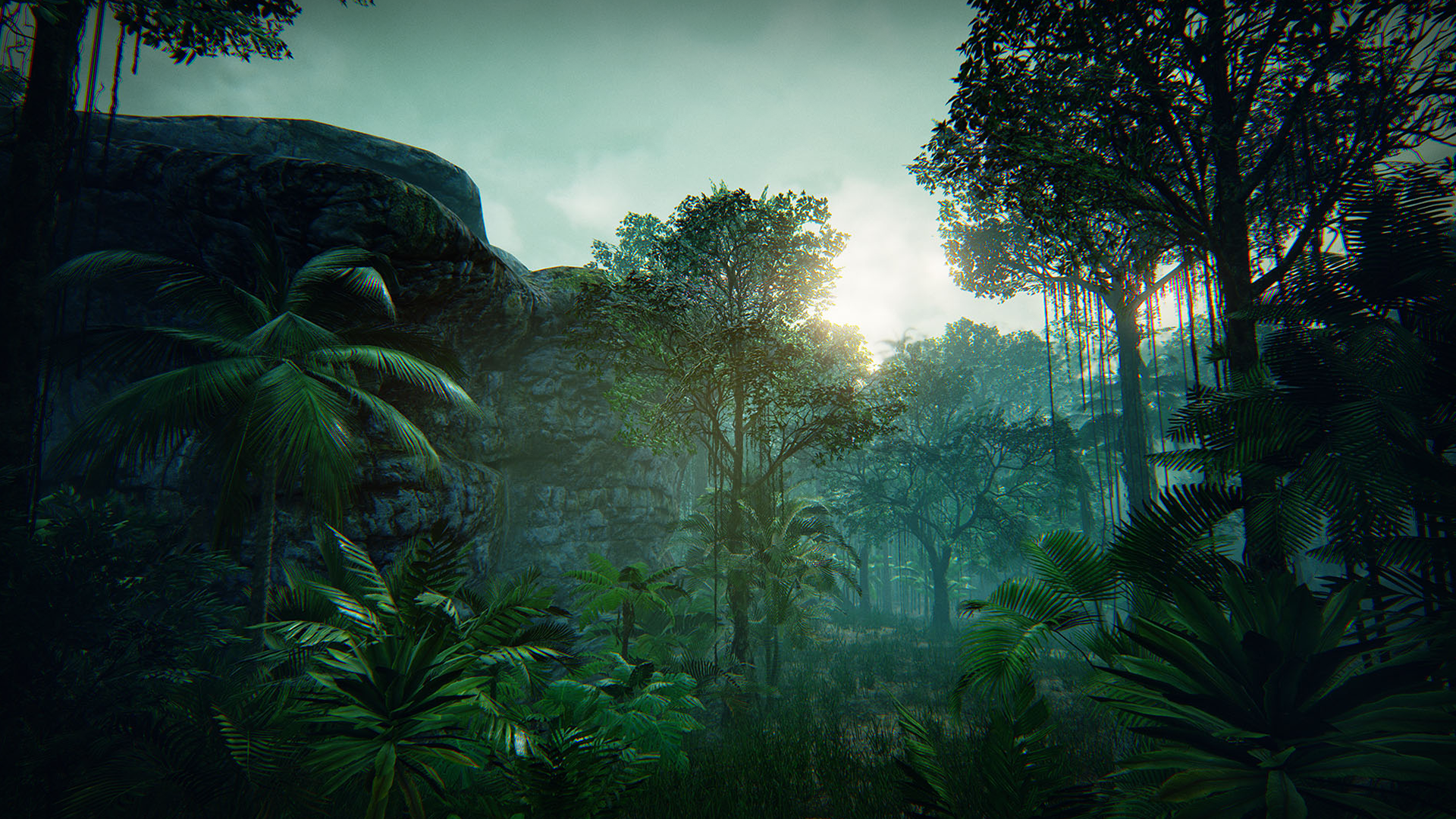 tropical forest by manufactura k4 in environments ue4