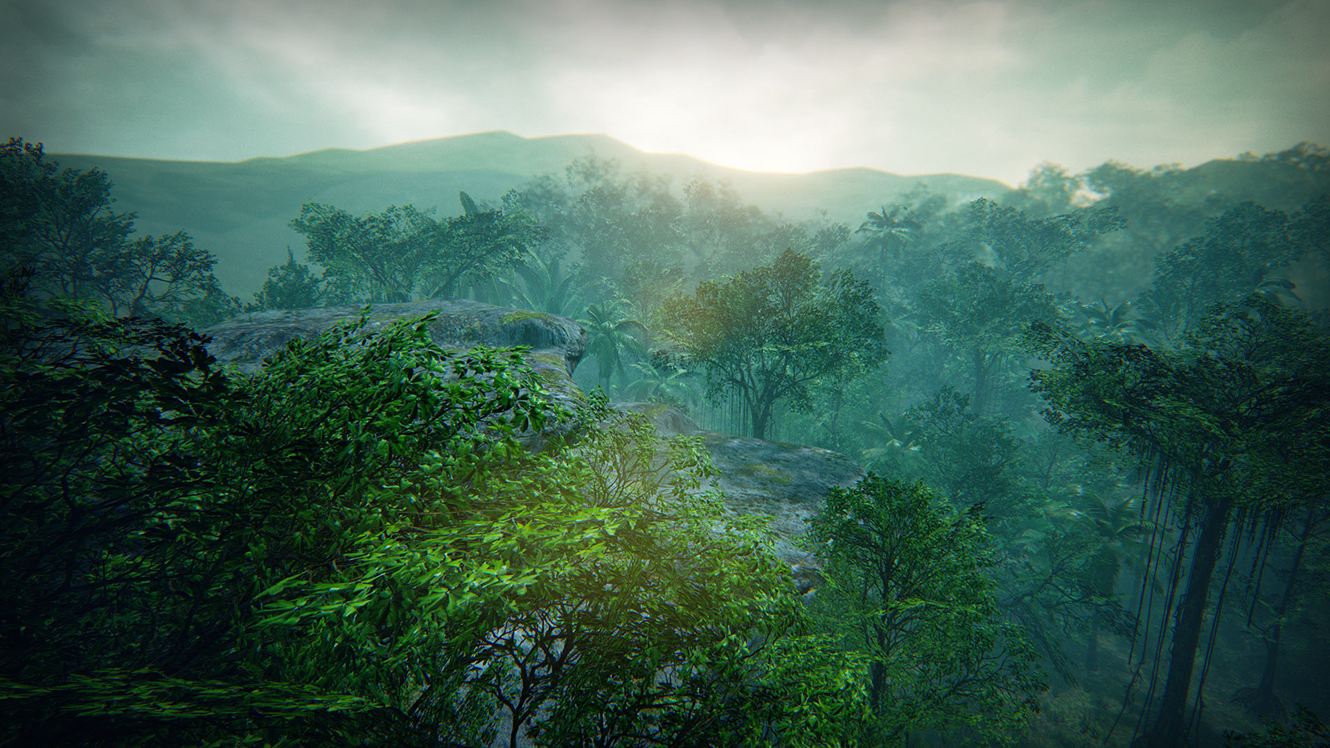 Tropical Forest by Manufactura K4 in Environments - UE4