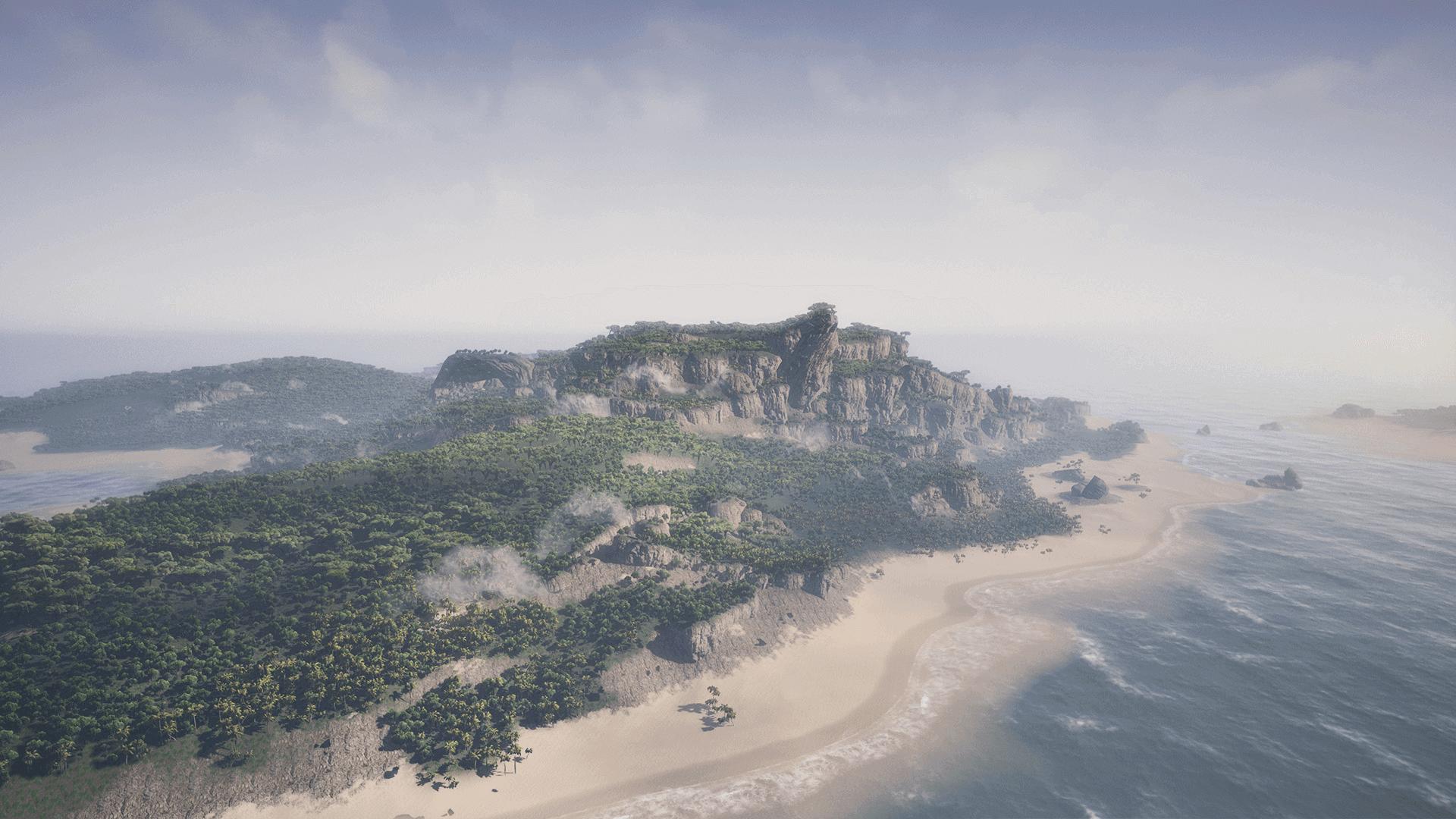 TropicalIsland Screenshot 03 1920x1080 35d52bfac49c160a9fad049ddb10554f - Tropical Island Environment - UE4热带岛屿环境资源