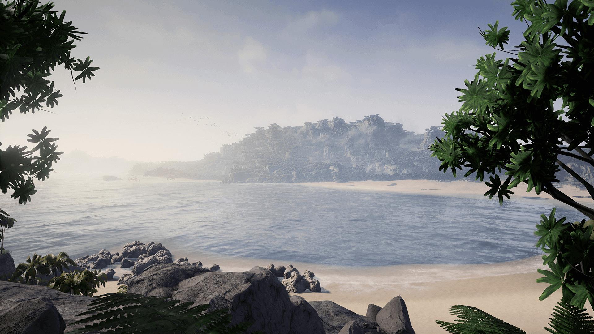 TropicalIsland Screenshot 05 1920x1080 e794a307fb1c872bbdf64d2f58d5acb6 - Tropical Island Environment - UE4热带岛屿环境资源