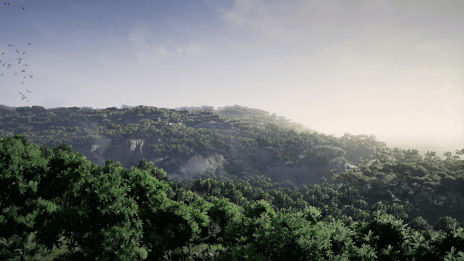 TropicalIsland Screenshot 07 1920x1080 a2e5e59a27a2055f69b2bb4d4fdb8787 - Tropical Island Environment - UE4热带岛屿环境资源