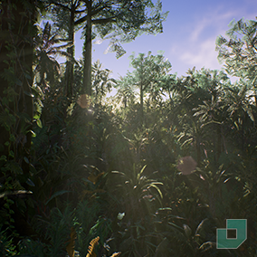 Build your own jungle with these tropical assets.