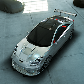 Tuning Cars Kit - Full Tuning Cars Asset