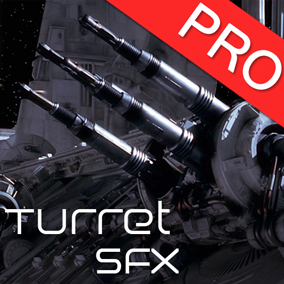 The Turret sound effects pack features 20 high quality sounds for tower defense games. Missile, energy, gatling gun, laser bullet etc..