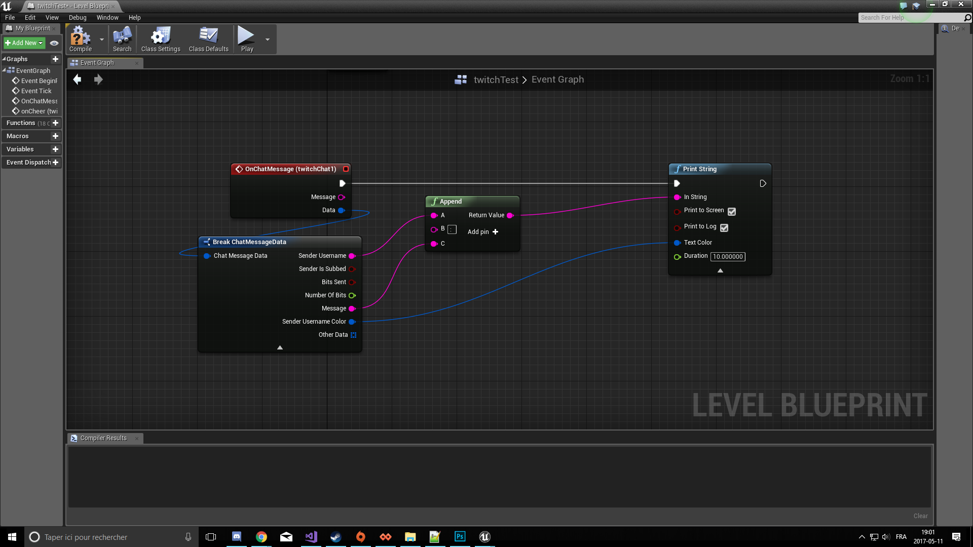 Twitch Integrator by Louis Contant in Code Plugins - UE4 Marketplace