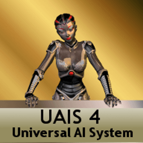 UAIS Universal AI System Version 4, is a Spawn Marker based AI system with a demo Player and Bot Character into the core system. UAIS is a Blue Print project but should be used as tamplate for start a new project.