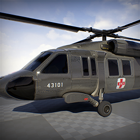 High AAA Quality UH60M blackhawk