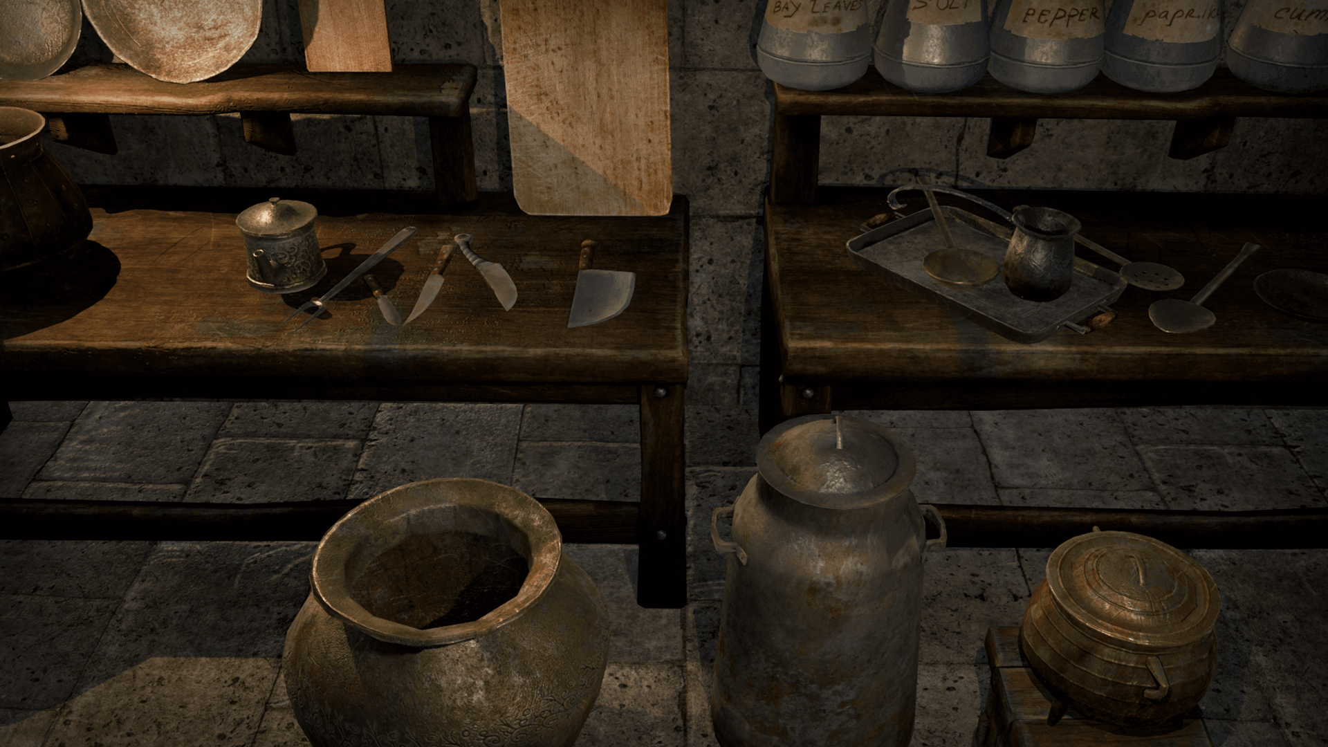 old kitchen by mrnecturus in props ue4 marketplace - Old Kitchen