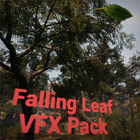 This VFX pack includes 12 different types of leaves, each setup with a matching particle system.