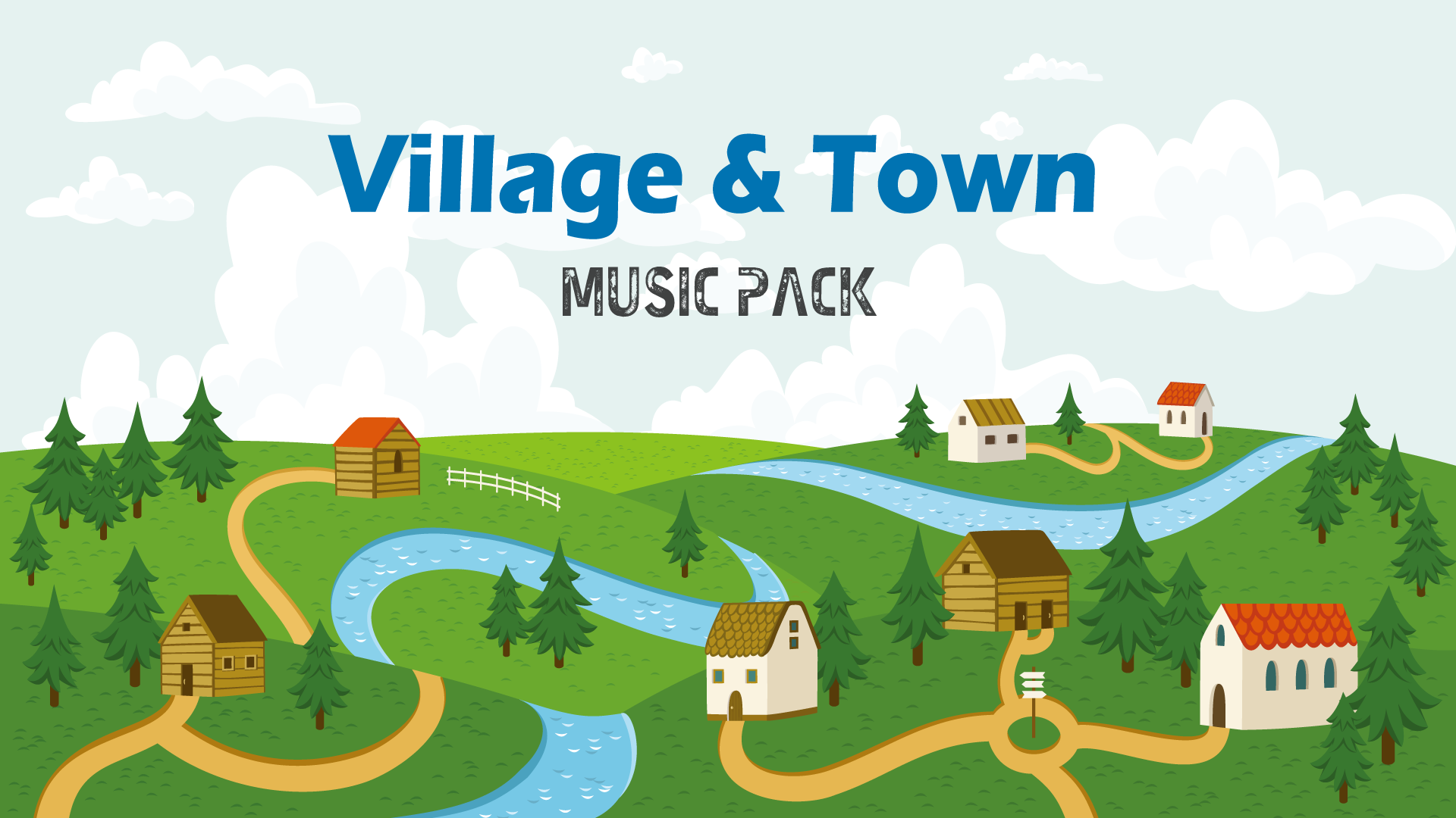 Village and town theme music pack by robotsound in music for Village town