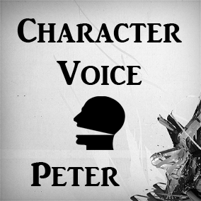 Character voice with a charming English accent (30+ common phrases).