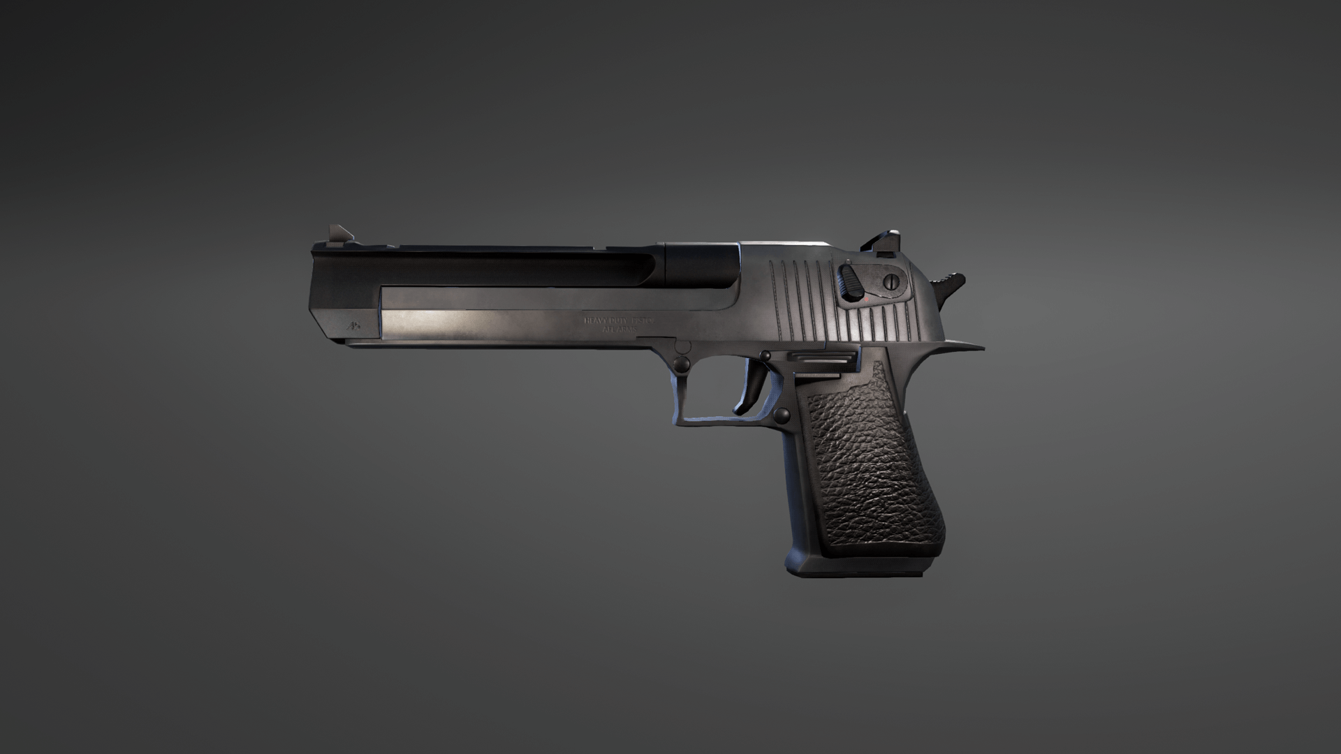 Animated Desert Eagle Pistol FPS Weapons Pack By Ironbelly Studios Inc In