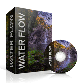 This collection contains recordings of crystal water streams, rivers and waterfalls with close and distant perspectives of slow and turbulent flows.