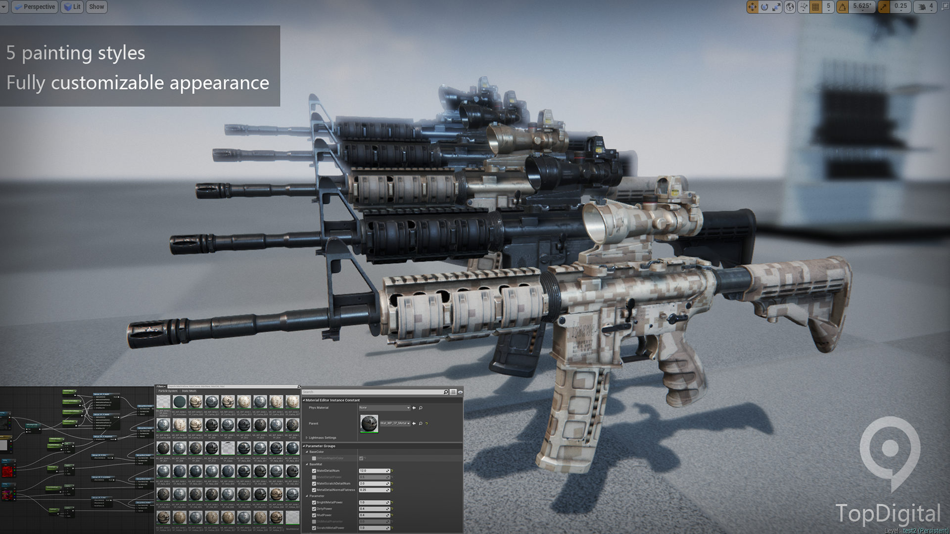 Weapon Pro - M4A1 by Lurker in Weapons - UE4 Marketplace