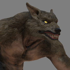 Here is a freaking dangerous werewolf ready to slice your hero characters into pieces.