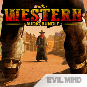 Western Audio Bundle is a very complete audio solution for any kind of videogames based on the old far west.