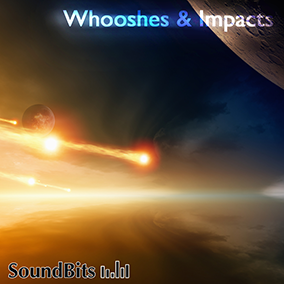 Whooshes & Impacts is a large package of futuristic and magical Whoosh sound FX and heavy weight Impact sound FX.