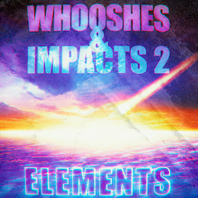"The ""Whooshes & Impacts 2 – ELEMENTS"" Sound Effects Library features a re-designed and further processed selection of the sound layers from ""Whooshes & Impacts 2"". Means Split into 3 frequency bands!"