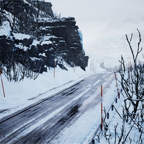 Show off your vehicle's all-season driving prowess with the new, free Automotive Winter Scene.