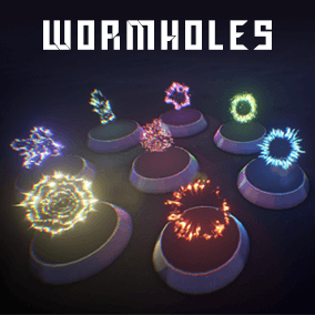 This is a particles effects for create worm-holes in your projects.