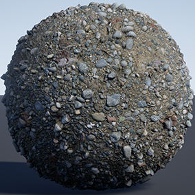 20 various (mostly grounds) PBR materials using high-resolution photogrammetric textures