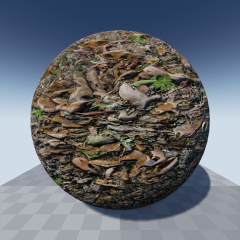A pack of 64 various PBR ground materials made by Yughues at nobiax.deviantart.com.