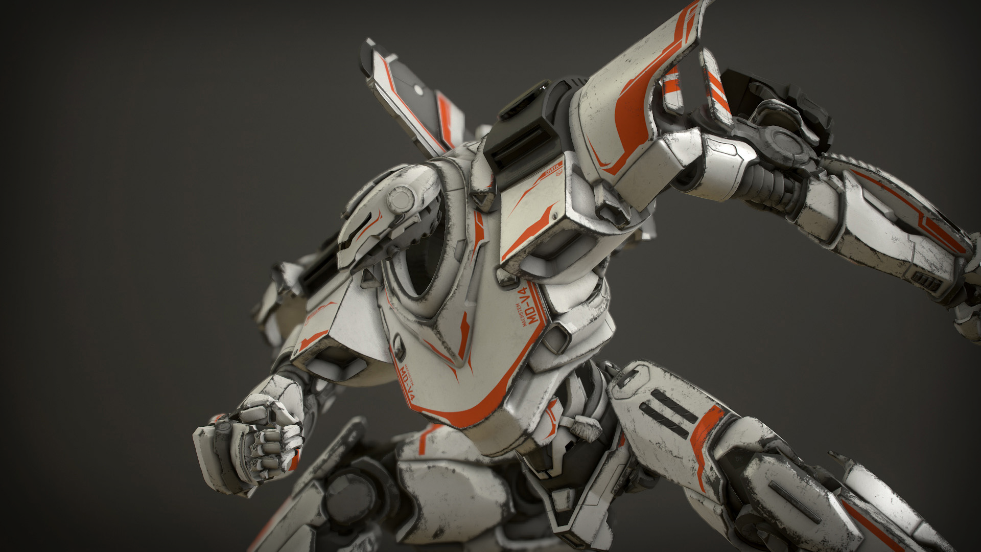 Creating A Blueprint Z Mech Robot Giant By Modelworks In Characters Ue4