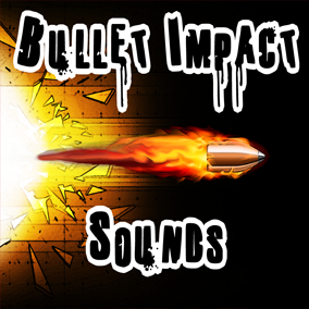 Bullet Impact Sounds contains 153 bullet sound effects (23 bullet flybys and 130 bullet impacts) covering 16 different surfaces.