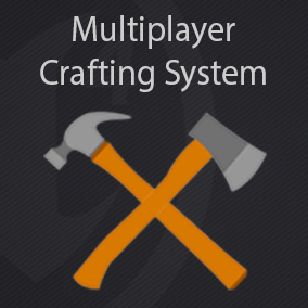 A System that allows the user to quickly add a Crafting System feature to his project. It's component based and can work with  any kind of Inventory.   For those who don't have an Inventory yet it also features a basic, drag and drop, Inventory solution.
