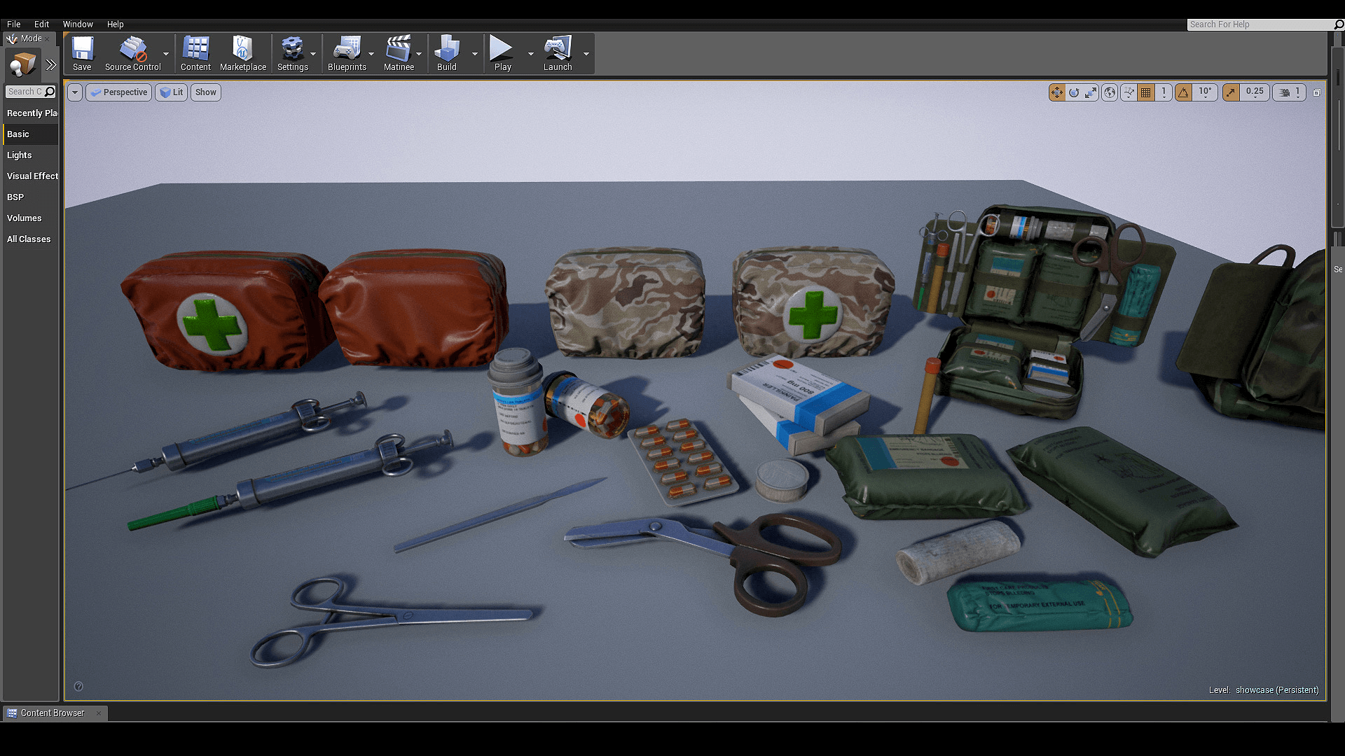 First Aid Set by Alexander Ponomarev in Props - UE4 ...