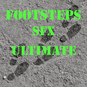 The footsteps ultimate audio pack contains 100+ high quality, professional footsteps SFX.