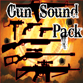 Gun Sound Pack contains 266 professional gun sound effects. Guns included: Pistol, Revolver Pistol, Shotgun, Rifle, Sniper Rifle, Semi-Auto Rifle, Sub-Machine gun, Machine gun.