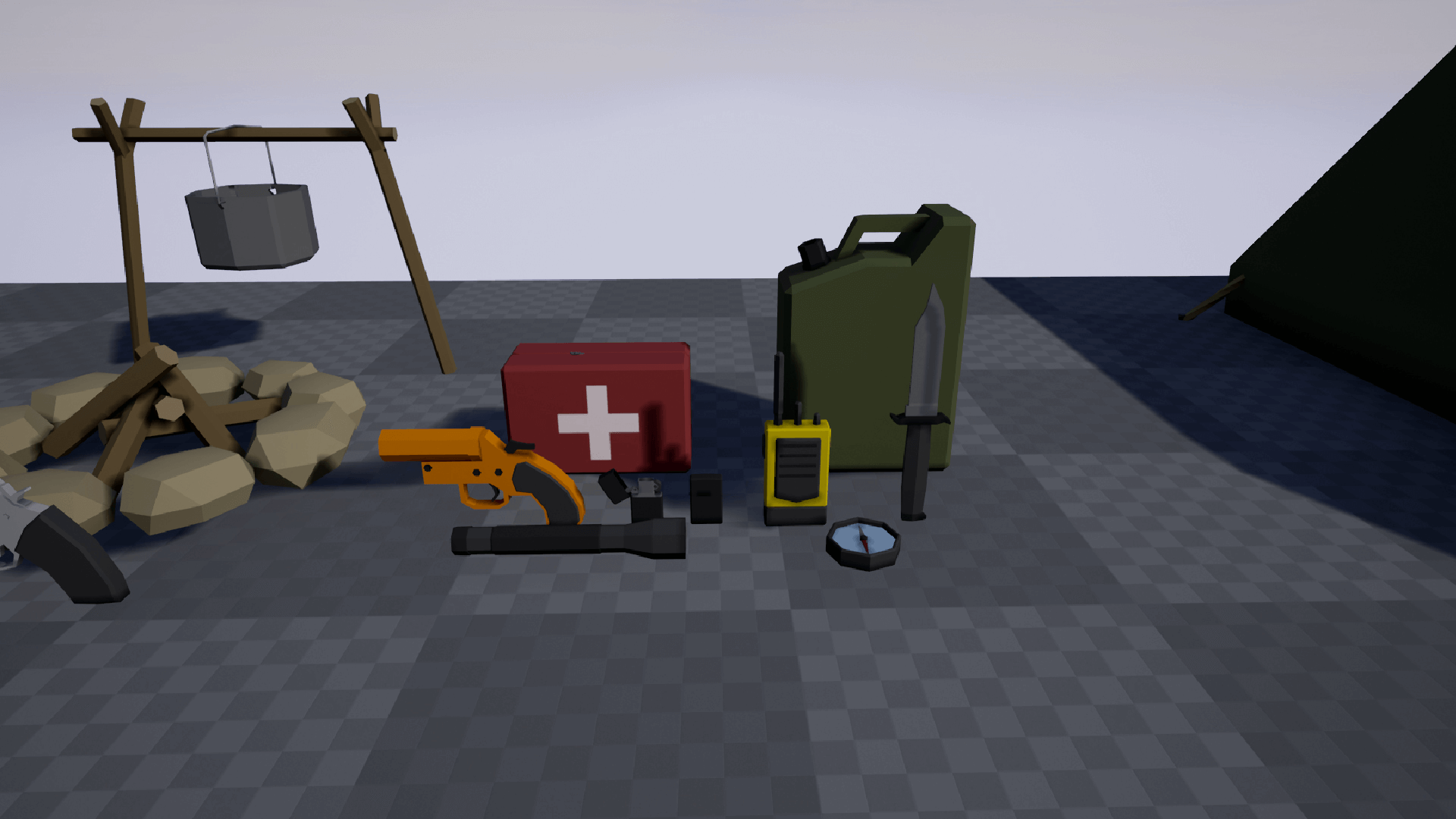Low Poly Survival Pack by Ziv Iz in Props - UE4 Marketplace