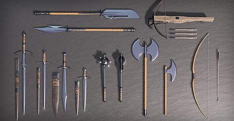 Medieval Weapons Quiz - By Kompaz