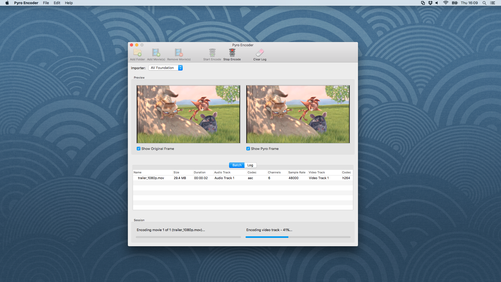 Pyro Video Codec by Deep Cove Software Ltd in Code Plugins